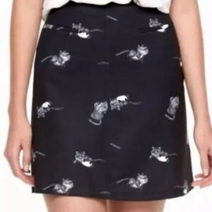 DISNEY Alice Through The Looking Glass Cat Skirt